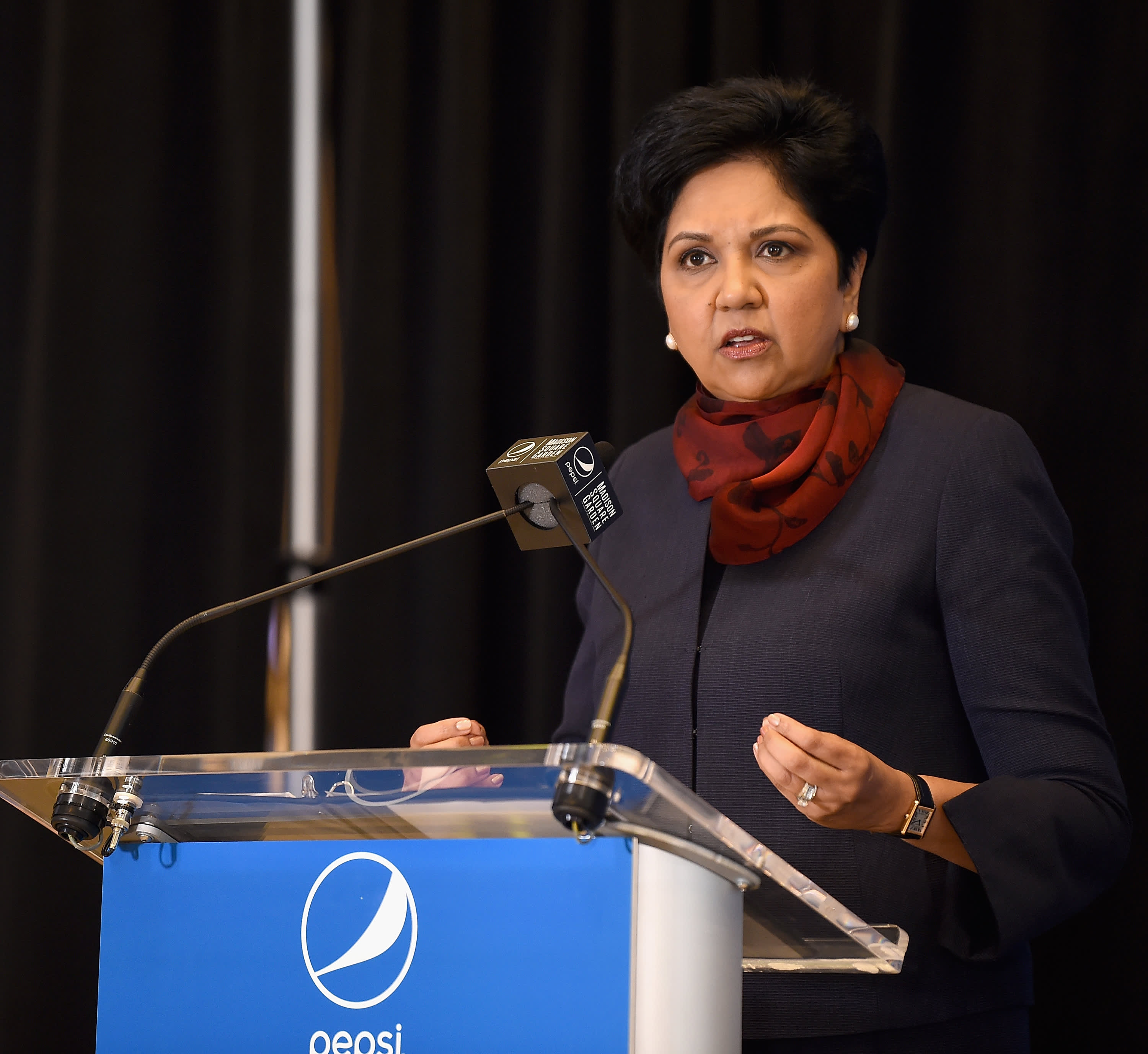 Indra Nooyi shared a work regret on her last day as PepsiCo CEO 1cff0f4e8166
