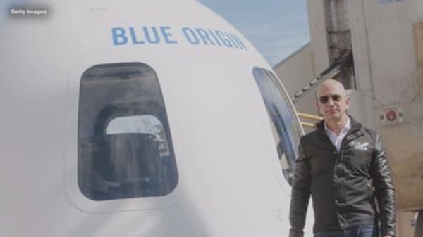 Amazon's Jeff Bezos on why Blue Origin is his 'most important work'