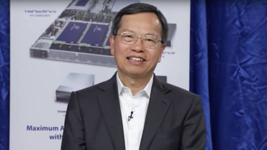 Charles Liang, CEO, Super Micro