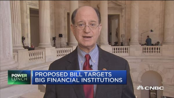 Possibility of a bailout gives Wall Street an unfair advantage, says Congressman Brad Sherman