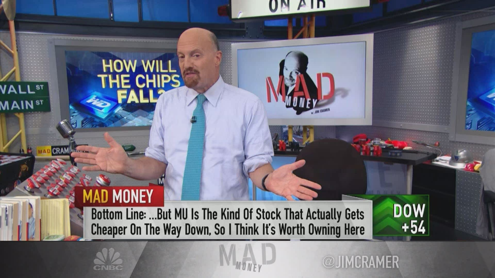Cramer Microns Stock Is Worth Owning Over Western Digitals