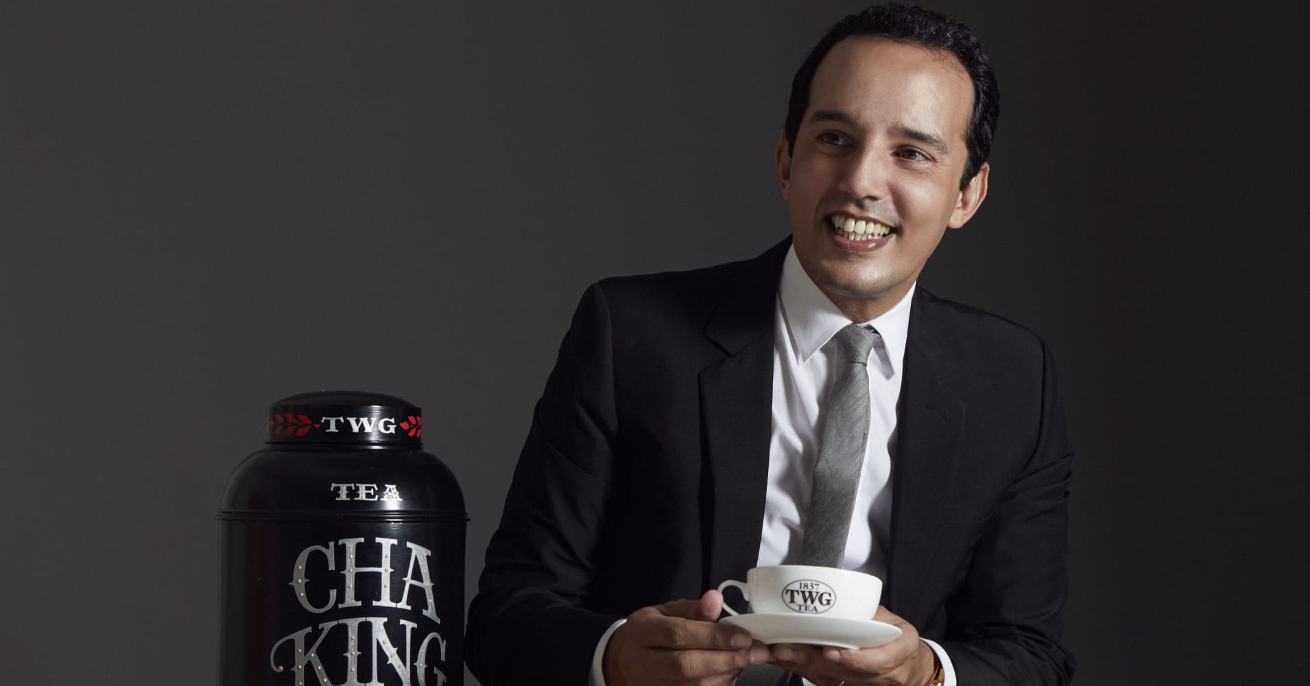 Taha Bouqdib, co-founder, CEO and president of TWG Tea.