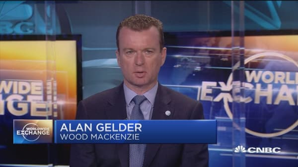 Alan Gelder discusses Iran sanctions