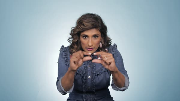 'I Feel Bad' star Sarayu Blue used to work for Axe body spray: