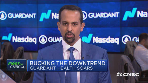 Guardant Health CEO on its soaring IPO debut