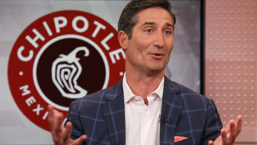 Brian Niccol, CEO of Chipotle Mexican Grill