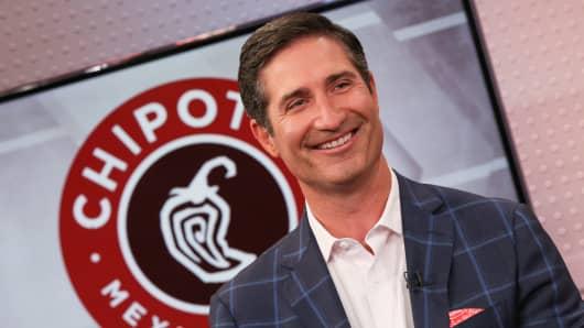 Brian Niccol, CEO of Chipotle Mexican Grill