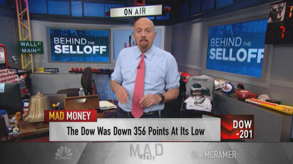Cramer reveals the 10 'telltale signs' that could prolong the sell-off