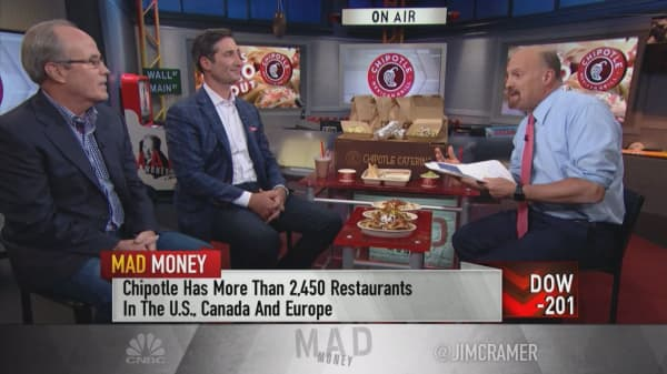 Chipotle CEO and CFO: 'We're back on our front foot' after food safety scandals