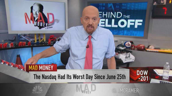 10 'telltale signs' that could prolong the sell-off: Cramer