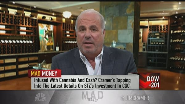 STZ CEO: Canopy investment 'has nothing to do with' our core business
