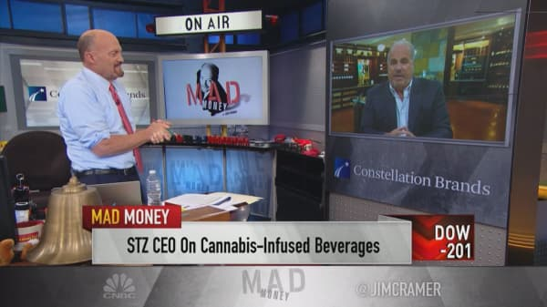 """Pro-weed 'political front is developing very quickly:' Constellation Brands CEO"""