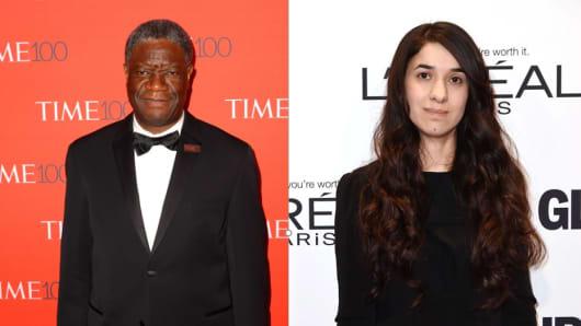 Denis Mukwege  Nadia Murad
