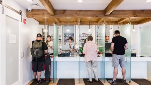 Garden Remedies opened its first medical marijuana dispensary in Newton, Massachusetts in 2016.