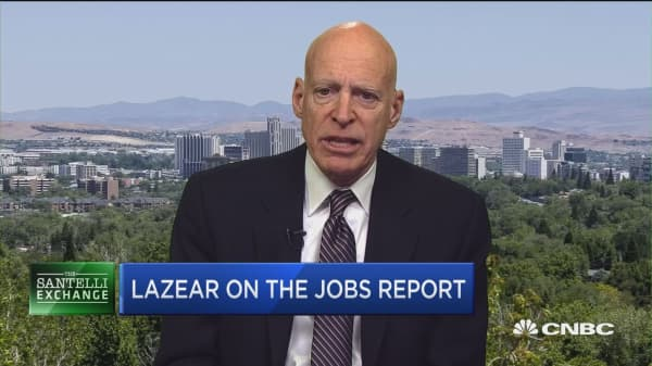 Santelli Exchange: Lazear on the jobs report and rising interest rates