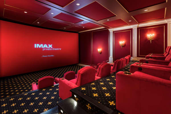 The IMAX in-home theater.