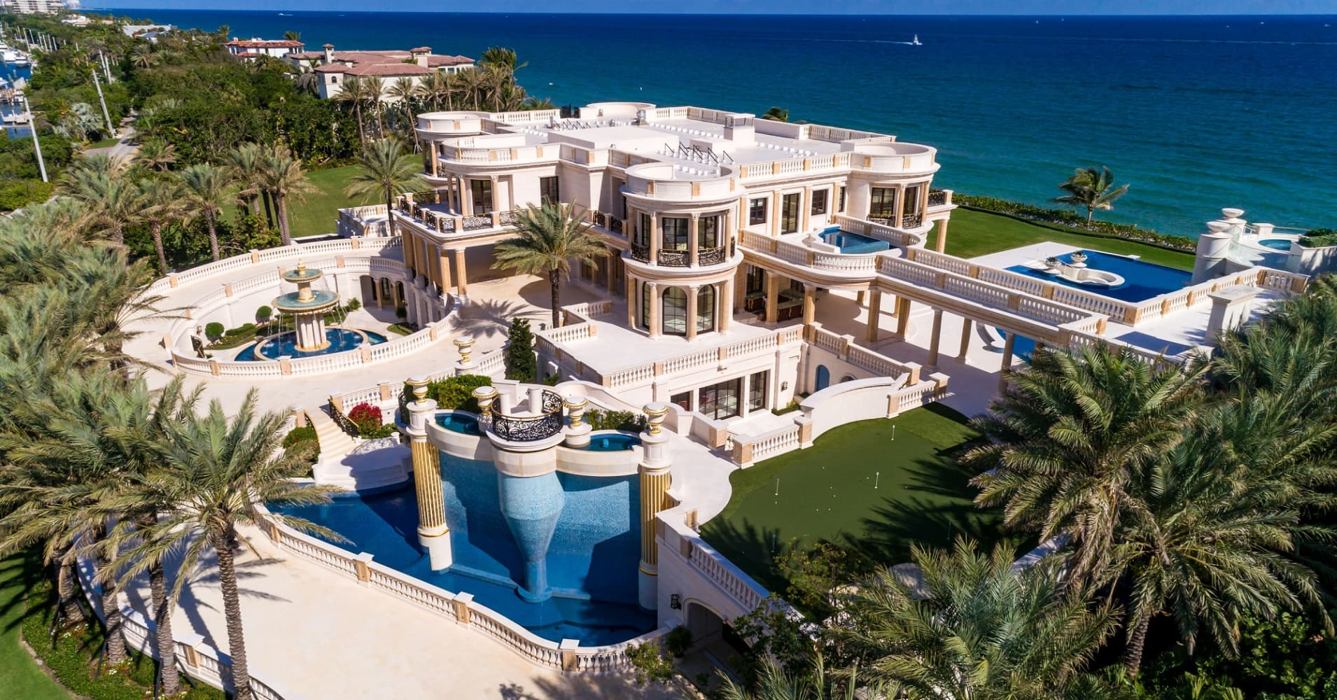 This 159 Million Florida Mansion Is Up For Auctiontake A Look Inside