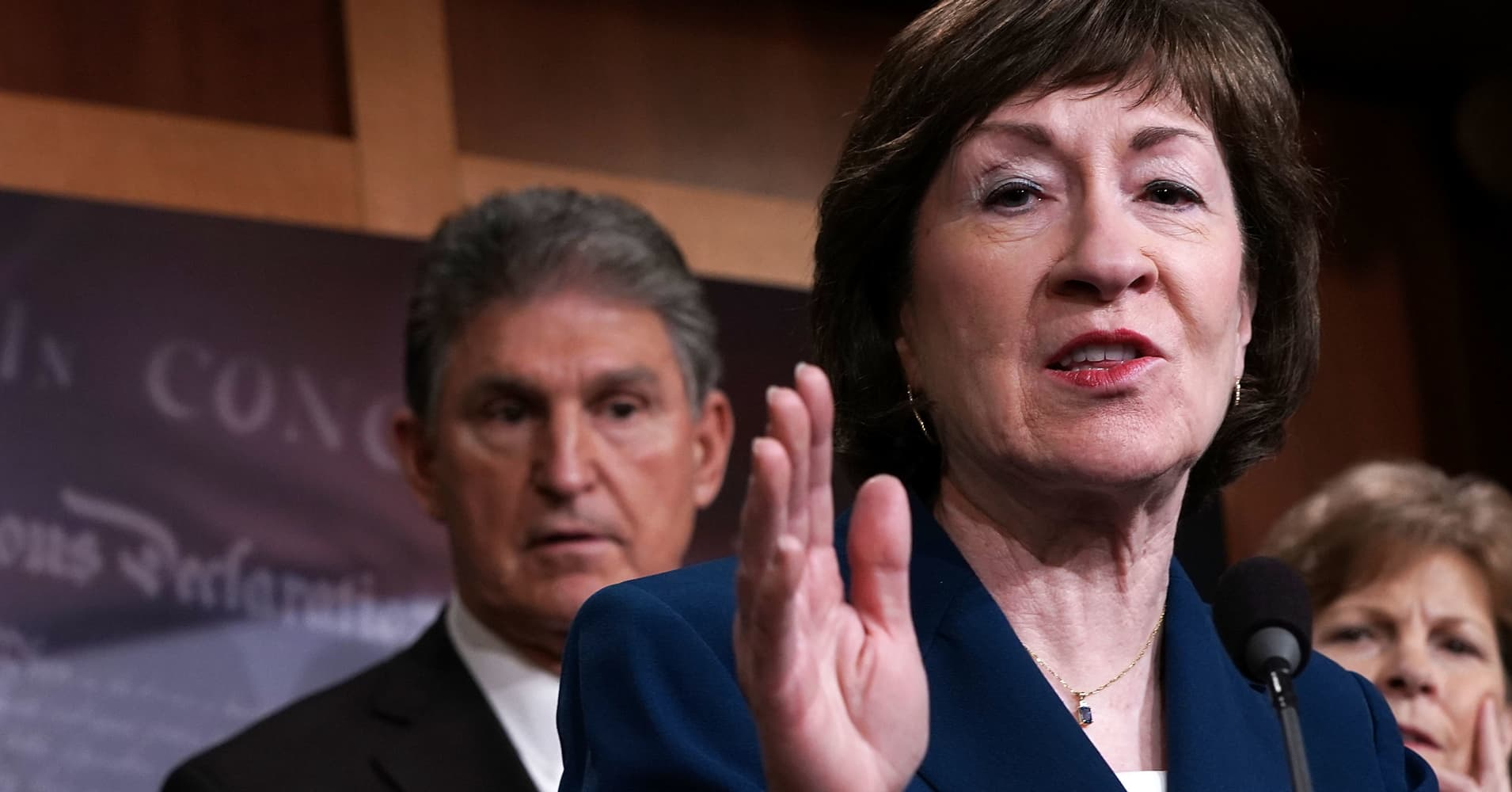 Susan Collins and Joe Manchin will vote to confirm Brett Kavanaugh to Supreme Court