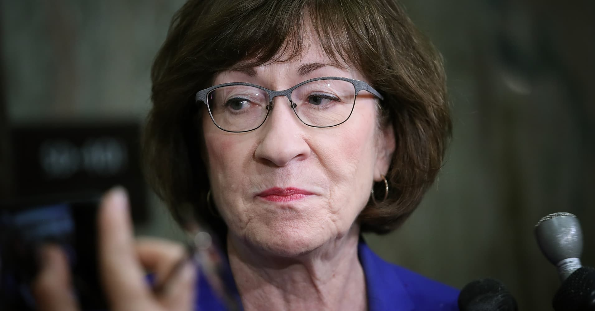 Susan Collins, announcing her support for Kavanaugh, suggests allegations could be a case of mistaken identity