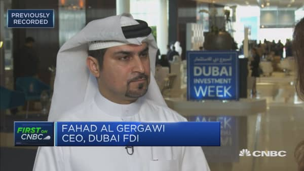 Dubai FDI: We're being active globally