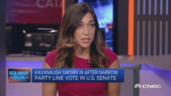 Kavanaugh confirmed amid sexual assault claims