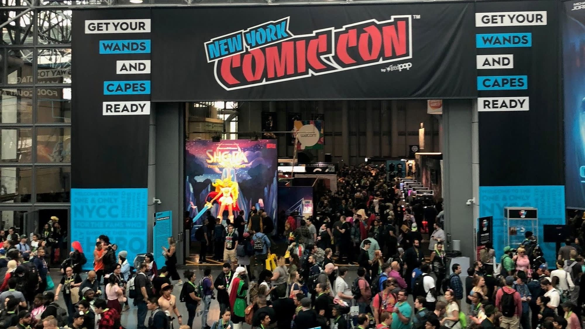 New York Comic Con Is Bigger Than Ever Brings More Than 100m To Nyc