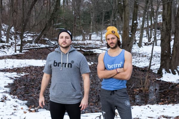 Brrrn owners Jimmy Martin and Johnny Adamic.