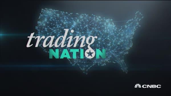 Trading Nation: Rate spike, stocks slump