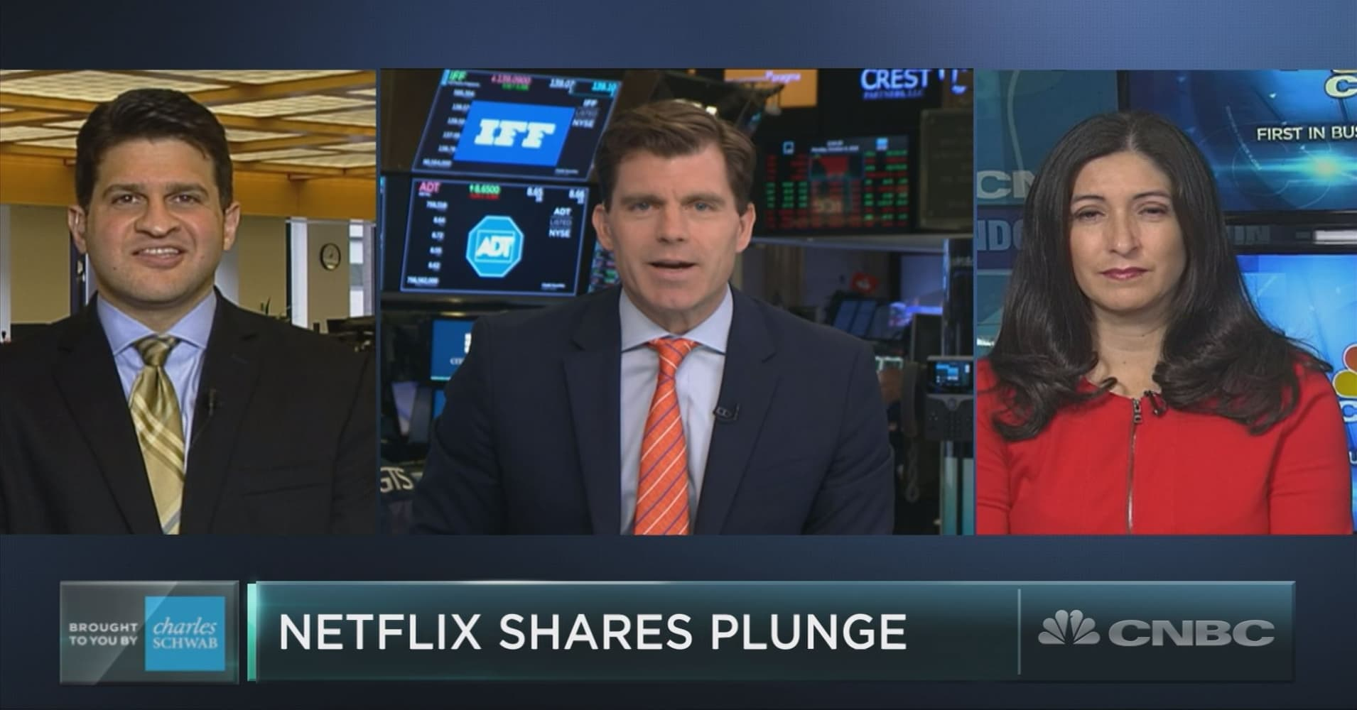 Watch Netflix Shares Take a Plunge video