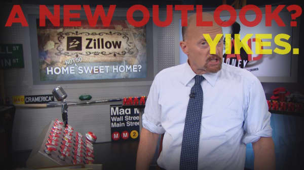 Cramer Remix: Zillow's risky move has not paid off