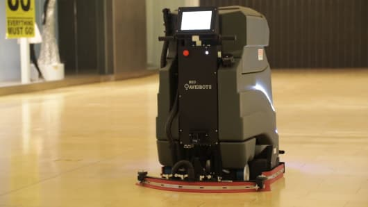 Avidbots' Neo can clean up to four feet per second