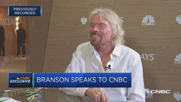 Richard Branson: Virgin Galactic first trip to space in weeks, not months