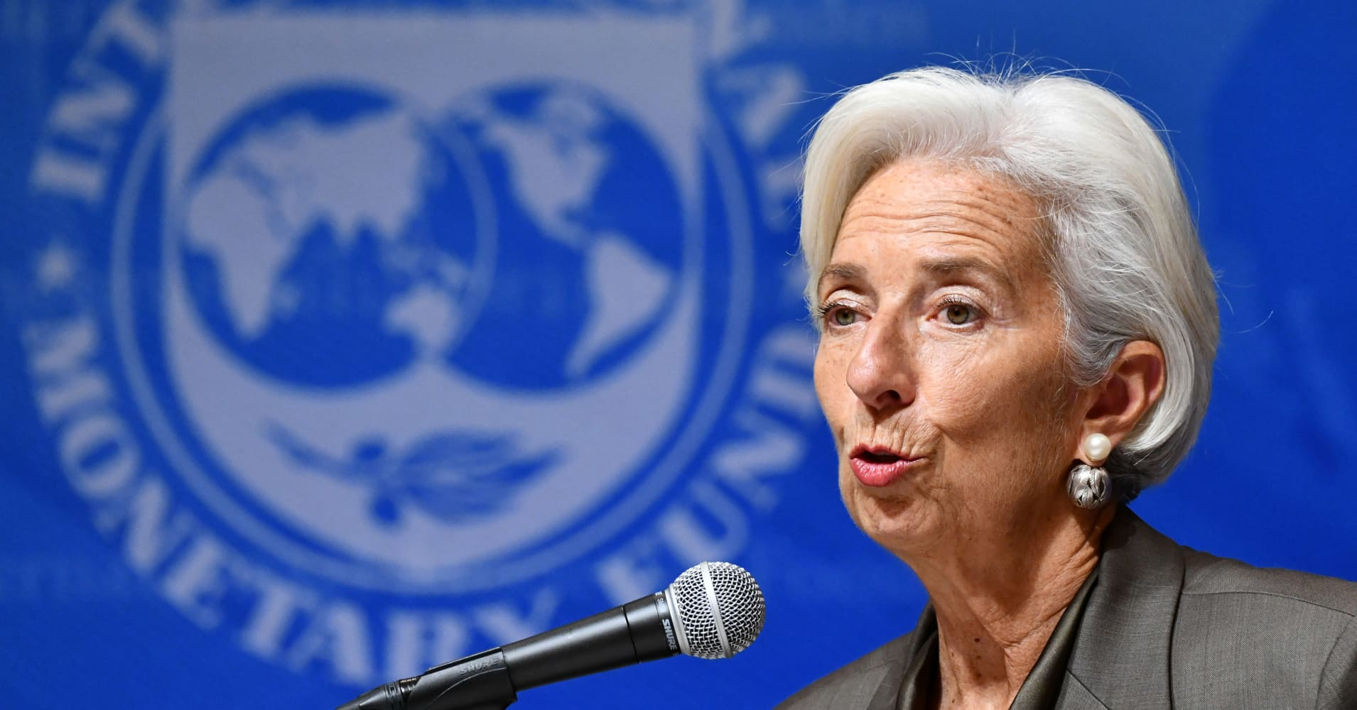 'I would not associate Jay Powell with craziness,' says IMF's Christine Lagarde
