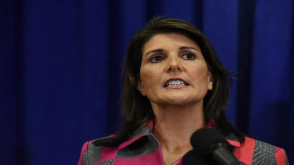 Nikki Haley resigns as UN ambassador, according to source