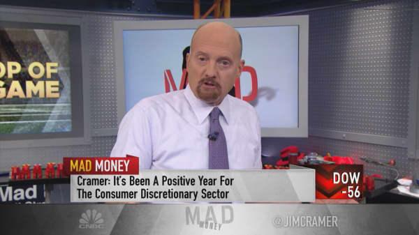 Cramer's 'power ranking' for consumer discretionary: Amazon, TJX, Kohl's, VF Corp, Nike