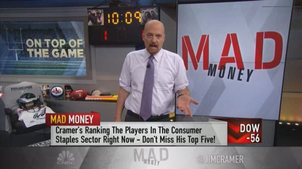 Cramer's 'power ranking' for consumer staples: Constellation, Costco, McCormick, Clorox, Estee Lauder