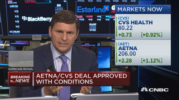 DOJ approves CVS and Aetna merger