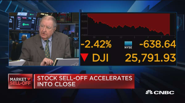 Markets today was a test and a failure, says UBS's Art Cashin