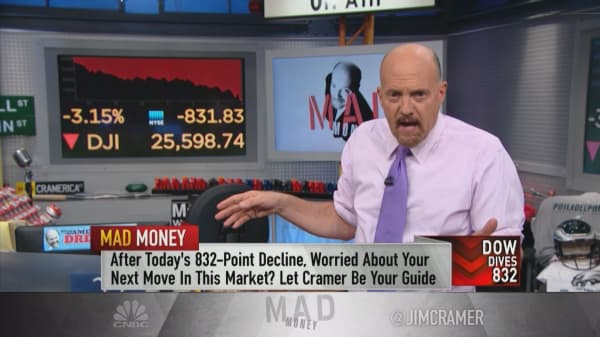 The time to start buying may be upon us: Cramer