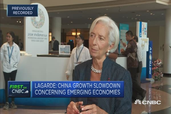 Tariff decisions are 'eroding confidence' in many corners of the world: IMF's Lagarde