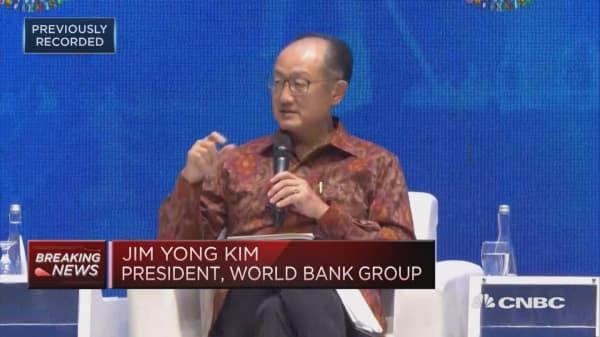 Blockchain has 'huge potential,' World Bank president says