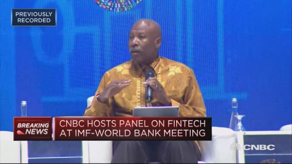 South African central bank governor speaks to CNBC about fintech