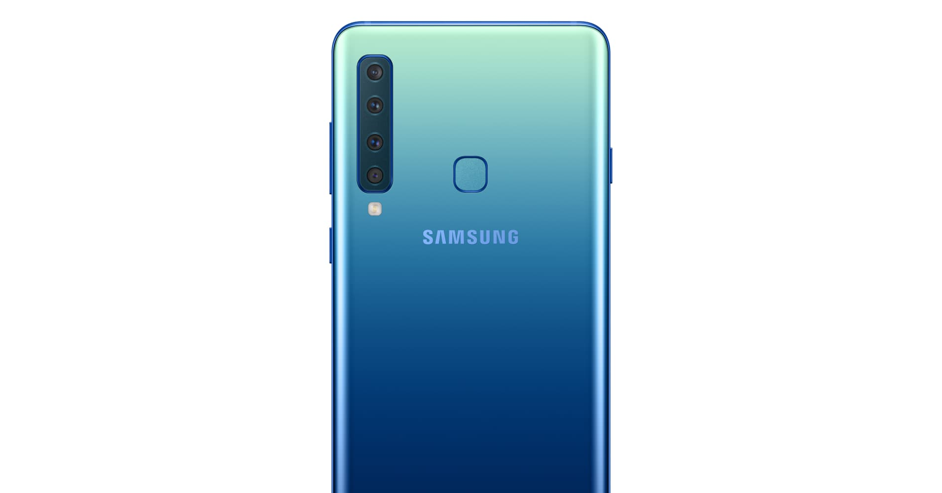 Samsung unveils the Galaxy A9, the world's first smartphone with a quad lens rear camera