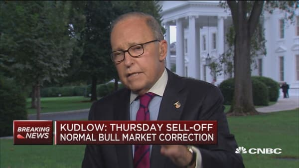 Kudlow: Trump not dictating policy to the Fed