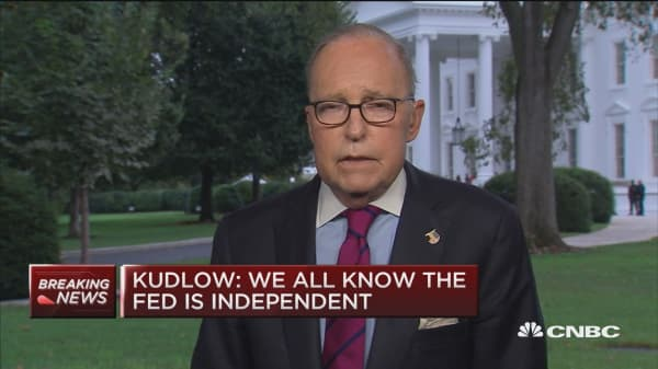 Kudlow: I don't see an end to trade war
