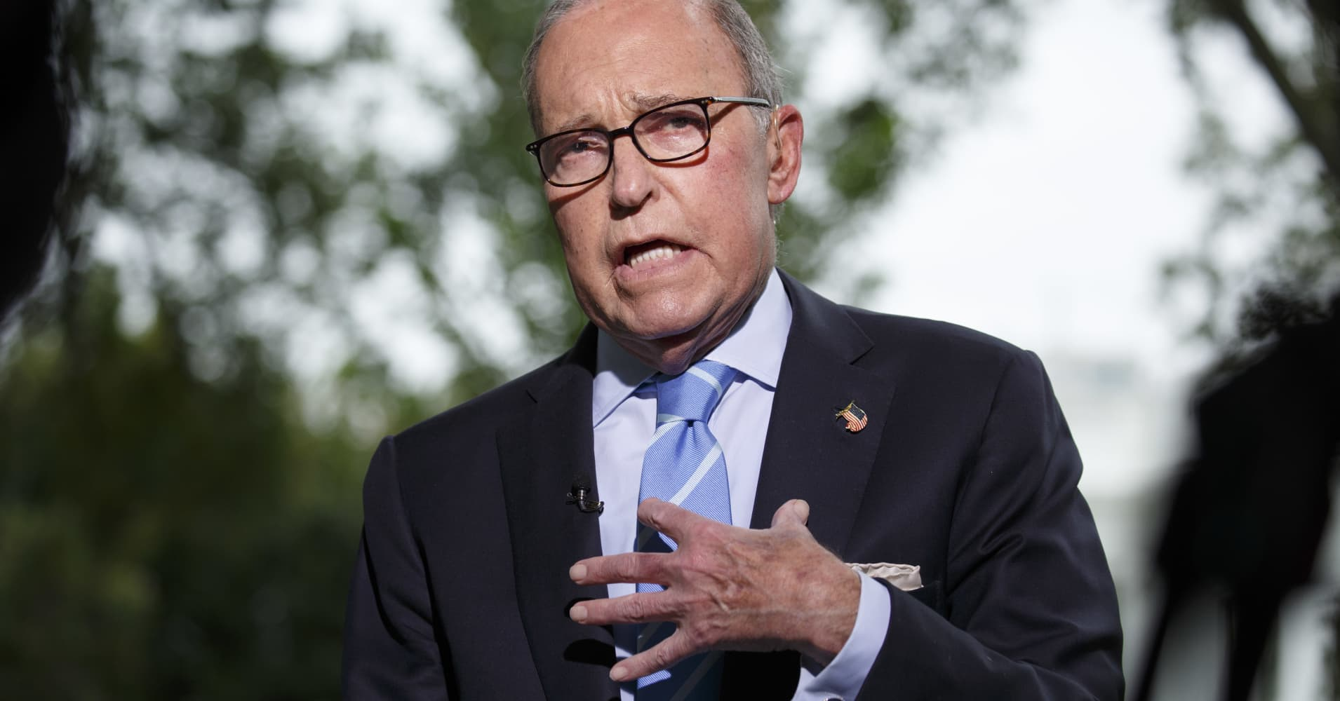 Kudlow: Trump would consider extending 90-day trade truce with China if 'good' progress made in talks