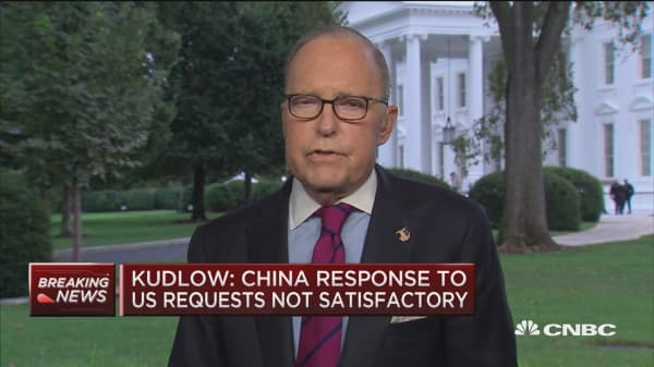 Kudlow: We are the hottest economy in the world. We are crushing it
