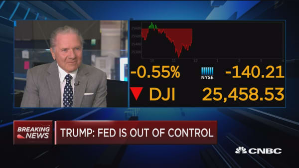 I do not agree with Trump coming down on the Fed, says Interactive Brokers Group CEO