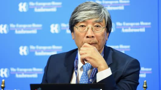 COMO, ITALY - SEPTEMBER 07:  Patrick Soon-Shiong President of Nantworks attends the Ambrosetti International Economic Forum 2018 on September 7, 2018 in Como, Italy.