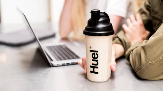 "Huel makes vegan, powdered meal replacements, catering to people who ""deem themselves time-poor"" but want healthy, environmentally sustainable meals."